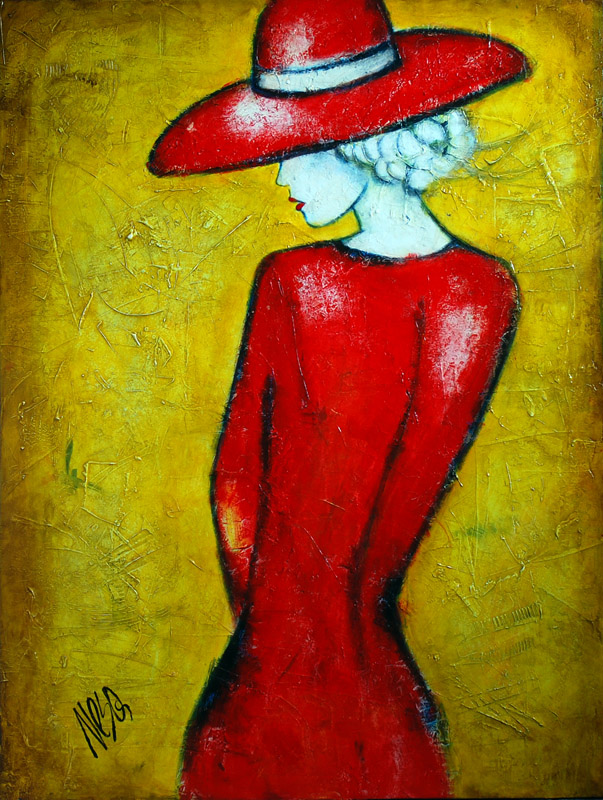 lady-in-red-dress-painting-734